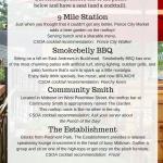 CSOA's Patio Bucket List